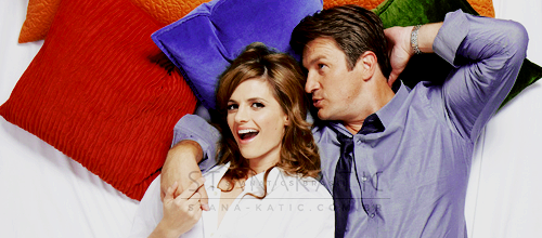 Nathan Fillion & Stana Katic wallpaper titled Stanathan Photoshoot