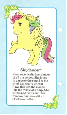 Skydancer Fact File