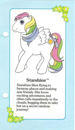 Starshine Fact File
