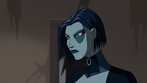 "Stills of Neena Thurman / Domino from ""Wolverine and the X-Men"""