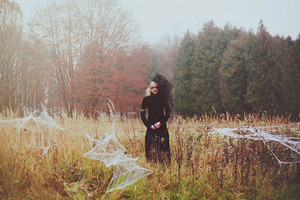Strange Spirits In The Mist: A Lithuanian Style Shoot