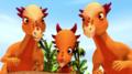 Stygimoloch Family - dinosaur-train photo