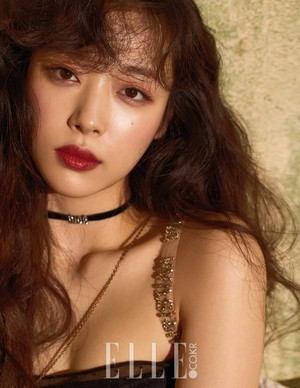 Sulli for ELLE Magazine May Issue