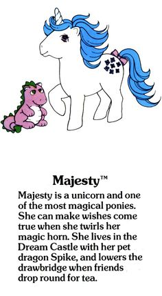 Majesty Fact File