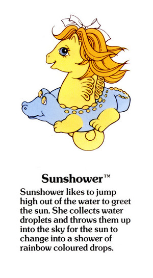 Sunshower Fact File
