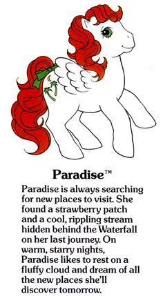 Paradise Fact File