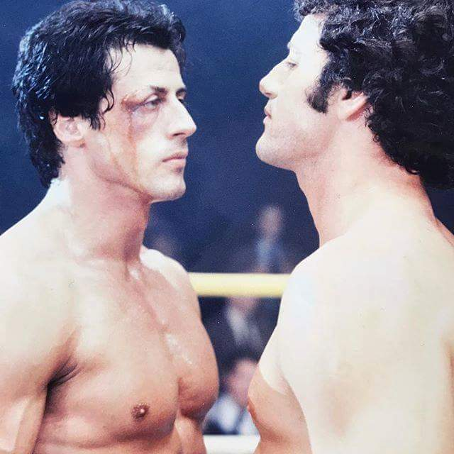 Sylvester Stallone and brother Frank