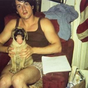 Sylvester Stallone rare pic
