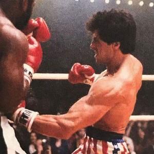 Sylvester Stallone rare picture