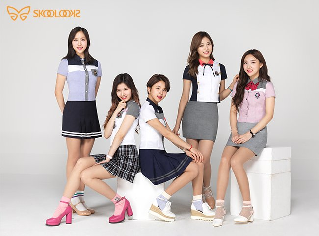 TWICE - Skoolooks 2017 Summer Uniform CF