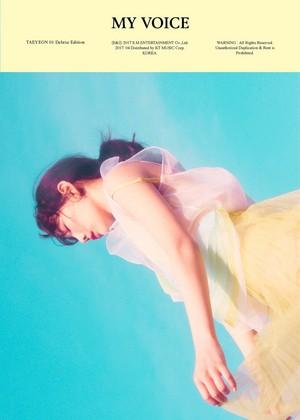 Taeyeon - 'My Voice' Deluxe Edition Teaser 写真