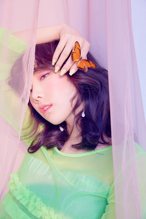 Taeyeon teaser imágenes for 'Make Me amor You'