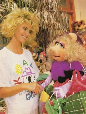 Talking With Miss Piggy