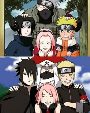 Team 7 - Then and Now