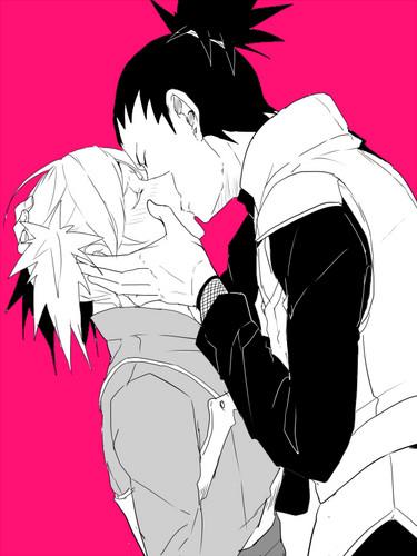 Naruto Shippuuden images Temari and Shikamaru kiss HD ...