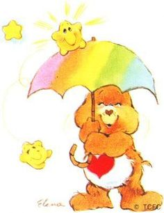 Care Bears wallpaper entitled Tenderheart Bear