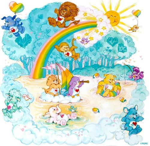 Care Bears wallpaper entitled The Care Bear Cousins