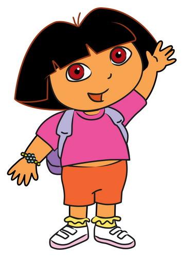 Dora the Explorer karatasi la kupamba ukuta called The Dora The Explorer karatasi la kupamba ukuta