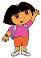The Dora The Explorer kertas dinding