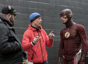 The Flash - Episode 3.19 - The Once and Future Flash - Promo and Bangtan Boys Pics