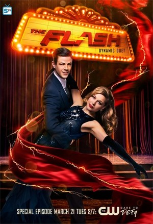 The Flash and Supergirl - Musical Crossover - Poster