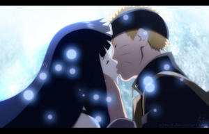 The Last: Hinata and naruto kiss