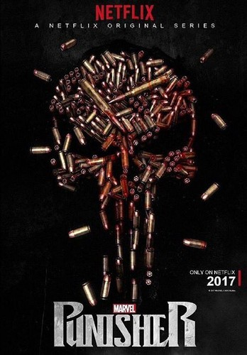 The Punisher - Netflix achtergrond titled The Punisher - Official Poster