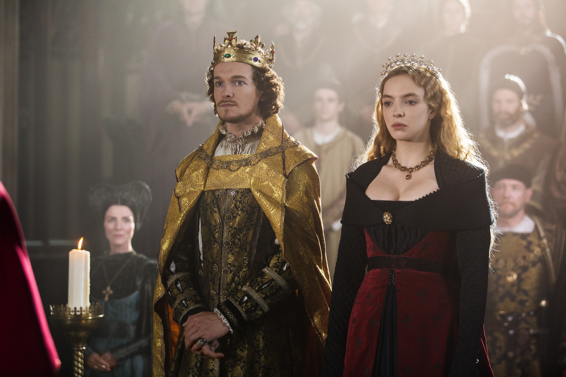 "The White Princess ""In 床, 床上 with the Enemy"" (1x01) promotional picture"