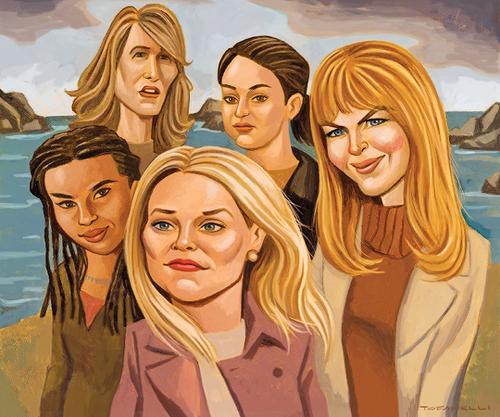 Big Little Lies (TV Series) imej The women on Big Little ...