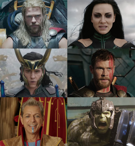 Thor: Ragnarok 바탕화면 entitled Thor Ragnarok First 사진