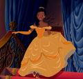 Tiana as Belle - disney-princess photo