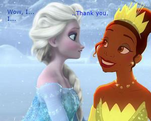 Tiana x Elsa