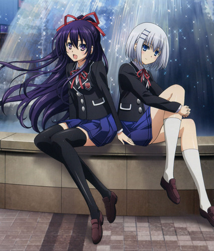 Date A Live Wallpaper Called Tohka And Origami