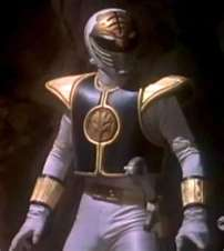 Tommy Morphed As The MM White Ranger
