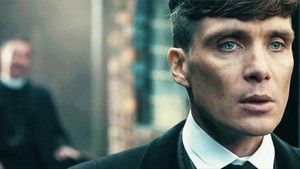 Tommy Shelby close up