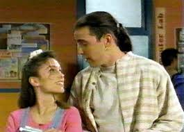 Amy Jo Johnson achtergrond entitled Tommy and Kim 24