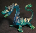 Toy Crystal Dragon - dragons photo