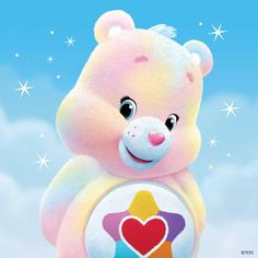 Care Bears achtergrond called True hart-, hart beer