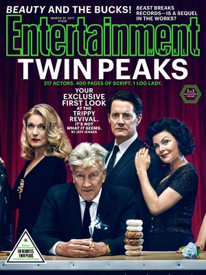 Twin Peaks Entertainment Weekly Cover