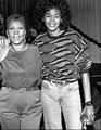 Two Legendary Music Icons - whitney-houston photo