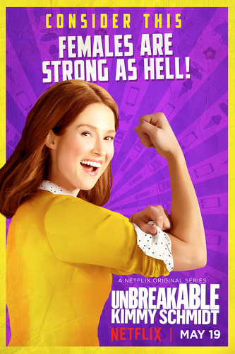 Unbreakable Kimmy Schmidt پیپر وال titled Unbreakable Kimmy Schmidt - Season 3 Poster - Kimmy