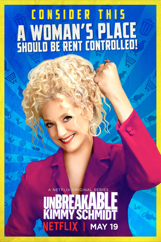 Unbreakable Kimmy Schmidt wallpaper called Unbreakable Kimmy Schmidt - Season 3 Poster - Lillian