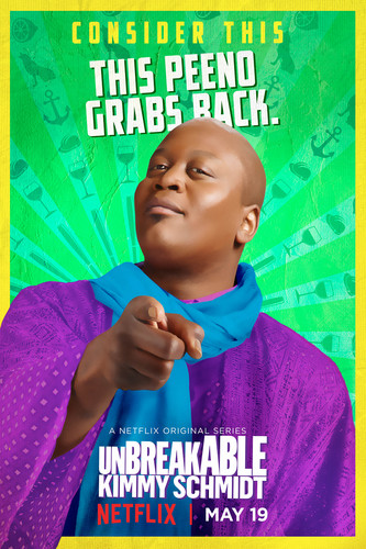 Unbreakable Kimmy Schmidt wallpaper called Unbreakable Kimmy Schmidt - Season 3 Poster - Titus