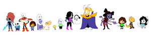 Undertale characters