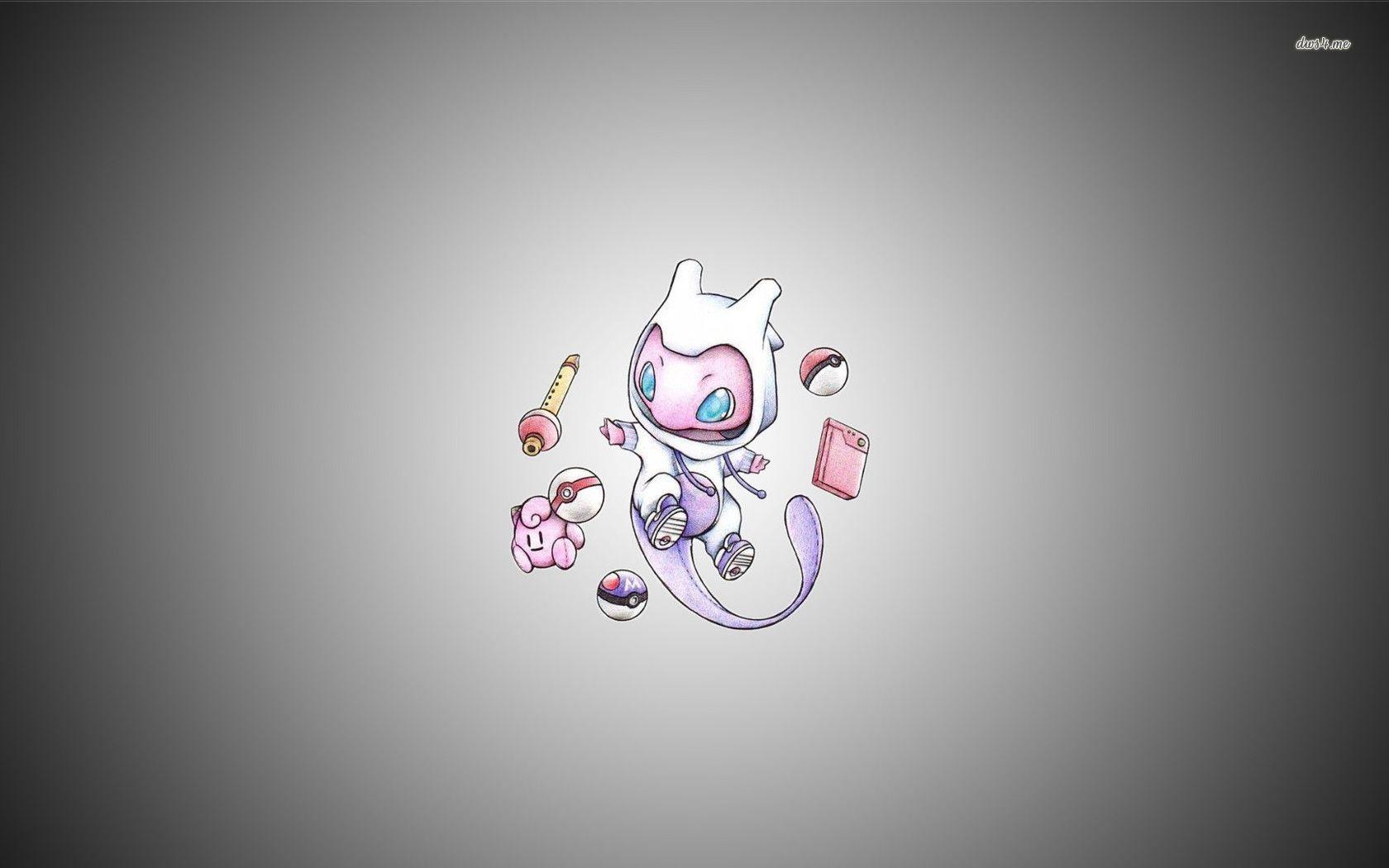 VRhLnts pokemon mew wallpaper