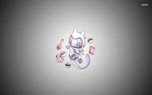 VRhLnts pokemon mew پیپر وال