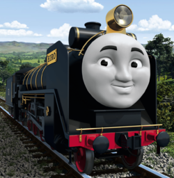 Thomas the Tank Engine wallpaper called Hiro