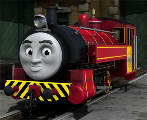 Thomas the Tank Engine wallpaper titled Victor
