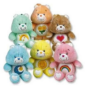Vintage Care Bears Plushies