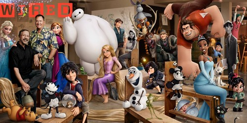 The disney Revival Era fondo de pantalla called WIRED Magazine on disney Revival